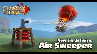 New air defense (Air Sweeper/ Luftfeger) Clash of Clans