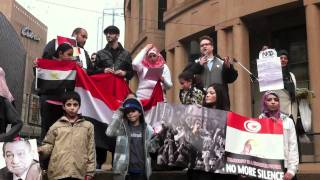Vancouver Rally for Egypt - February 2011