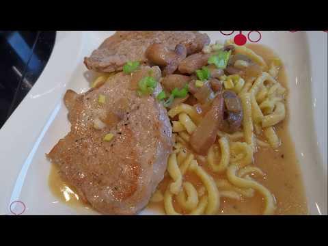 Pork In Rahmsauce | Schweinefleisch Minuten Steak In Rahmsoße |  German Recipe |  Sweet & Ways