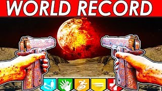 MOON | WORLD RECORD!! | EASTER EGG SPEEDRUN! 33:40 | CLASSIC GOBBLEGUM | BLACK OPS 3 ZOMBIES