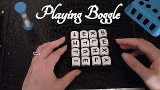 🎲 ASMR Playing Boggle 🎲 (Games, Tapping, Soft Spoken) ☀365 Days of ASMR☀