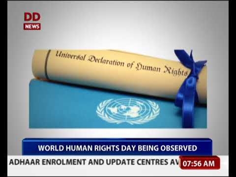 World Human Rights Day is being observed today