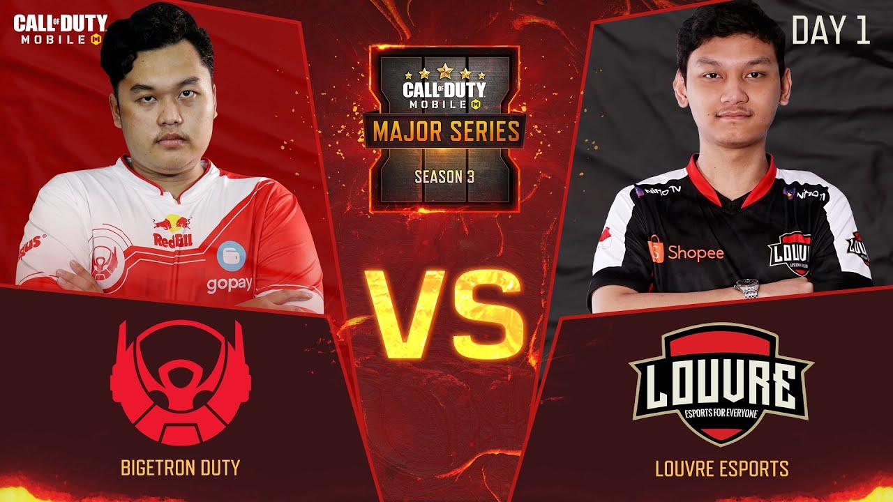 Bigetron Duty VS Louvre Esports: Seeding Match - Grand Final CODM Major Series Season 3