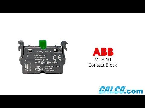 ABB MCB-10 Contact Block