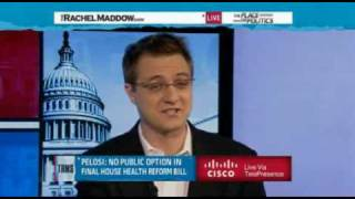 Rachel Maddow- Who killed the public option- 1