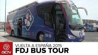 FDJ Bus Tour | Vuelta A España 2015