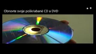 Obnovte svoje poškrabané CD a DVD