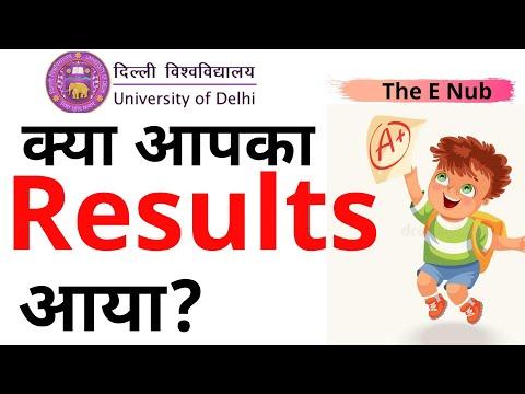 UG Result 2019-2020 (ABE)- B. Com, B. Com(H)    Delhi University, SOL, NCWEB