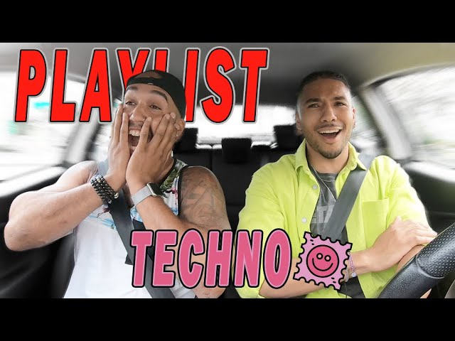 PLAYLIST TECHNO EN ALFA ROMEO ! #PLEV2
