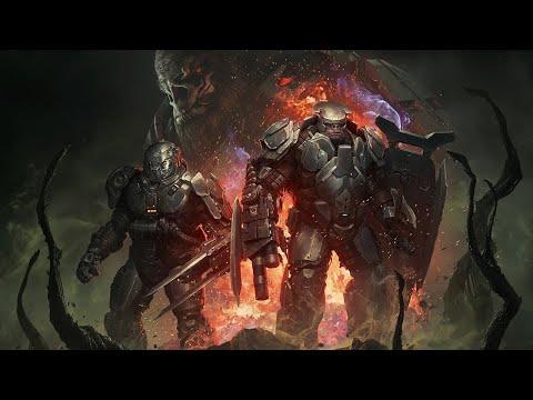 Геймплей дополнения Awakening the Nightmare для Halo Wars 2
