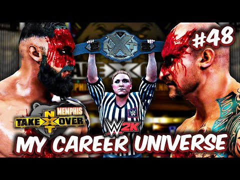 WWE 2K MY CAREER UNIVERSE #48 - KROSS vs. INFERNO II: THE FINAL SUBMISSION WAR IN MEMPHIS!