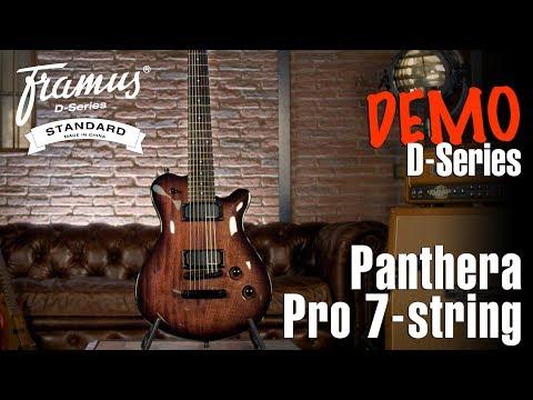 FRAMUS D-SERIES: PANTHERA PRO 7-STRING Demo