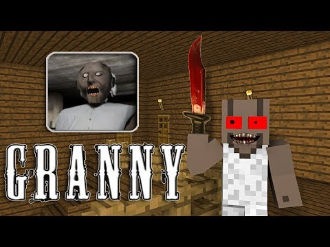 Monster School : GRANNY HORROR GAME EPISODE 1 AND 2 - Minecraft Animation