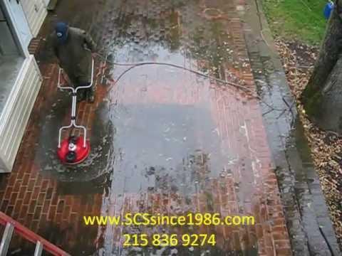 Brick Patio Powerwashing And Cleaning   Villanova. Gladwyne, Haverford,  Devon Pa
