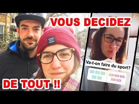 VOUS DÉCIDEZ DU PROGRAMME DE NOTRE JOURNÉE!  | CAM c'est elle