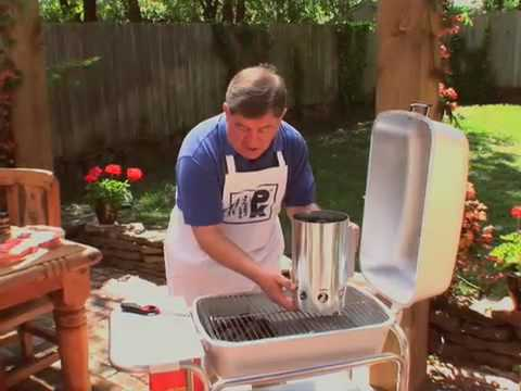 Portable Kitchen Charcoal Grill And Smoker Demo