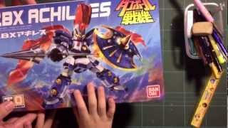 "Danball Senki LBX ""little battlers experience"" Achillies part 1"