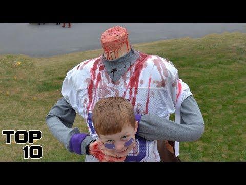 Top 10 SCARIEST Kids Halloween Costumes