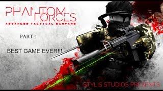 BEST ROBLOX GAME EVER!!! l Phantom forces Teil 1