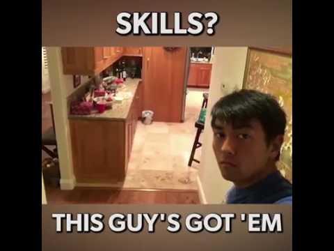 i got skill. this guy got skills i skill
