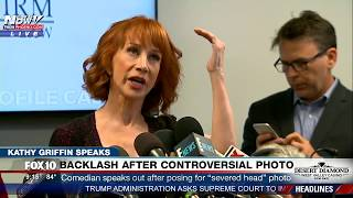 FULL Kathy Griffin Press Conference on Severed Trump Head Photo - MUST WATCH (FNN)