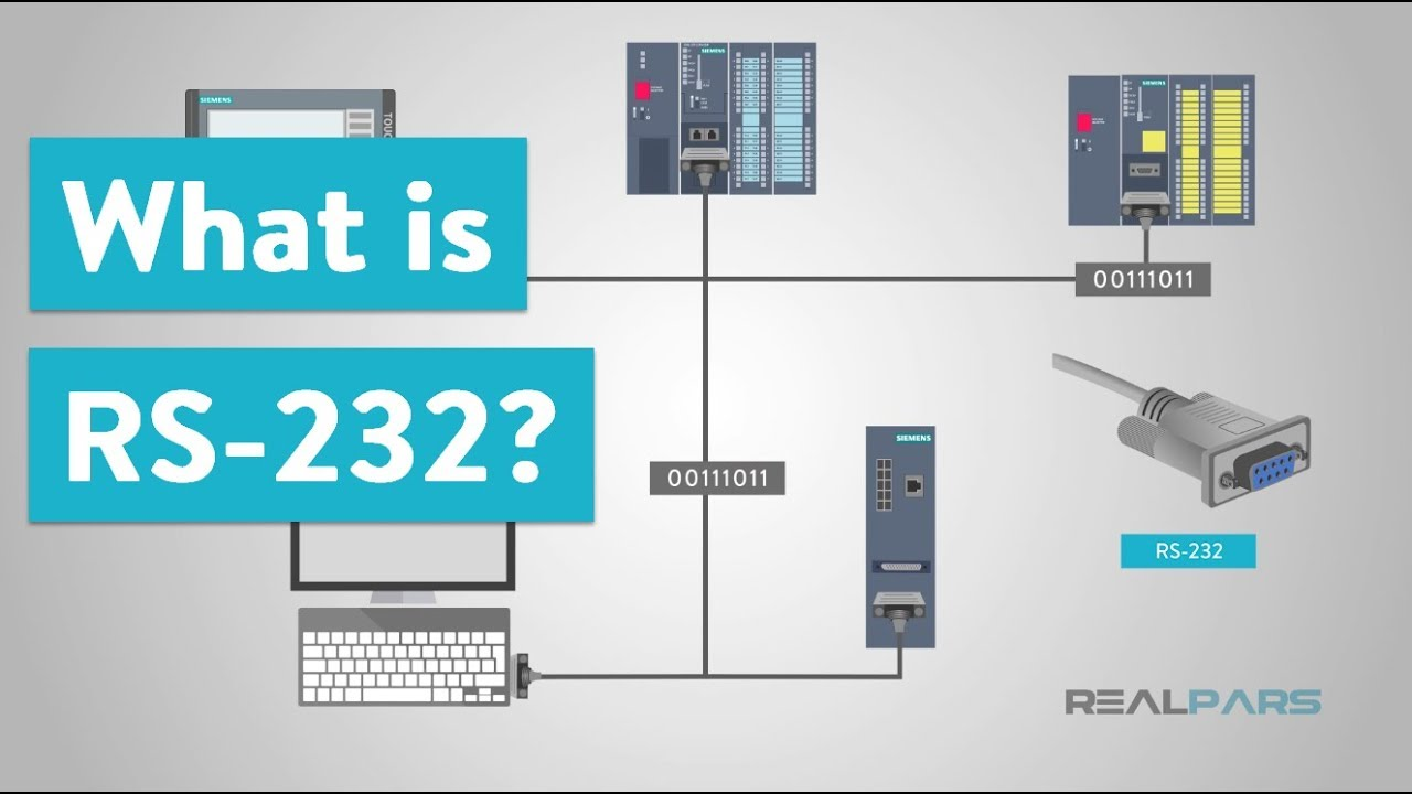 What is RS232 and What is it Used for? | RealPars