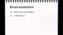 Bronchodilators and Episode 256