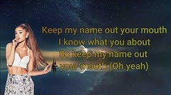 Don't Call Me Angel (Charlie's Angels) Lyrics, Ariana Grande, Miley Cyrus & Lana Del Rey
