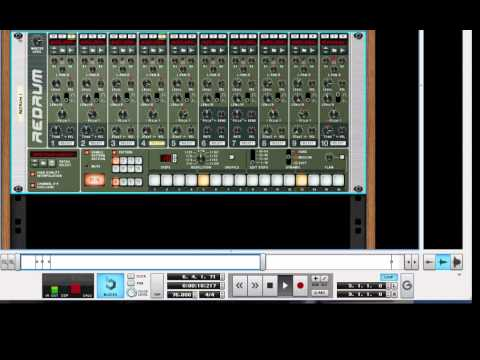 Reason Tutorial: Redrum Drum Machine