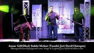 Dhol, Tumbi, Chimpta-Punjab Folk Instrumental