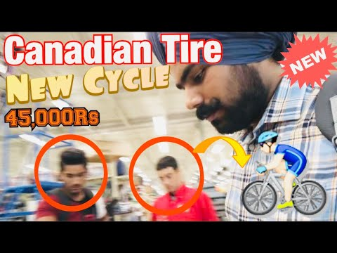Purchasing New Cycle For Work In Canada || International Students || Canadian Tire |