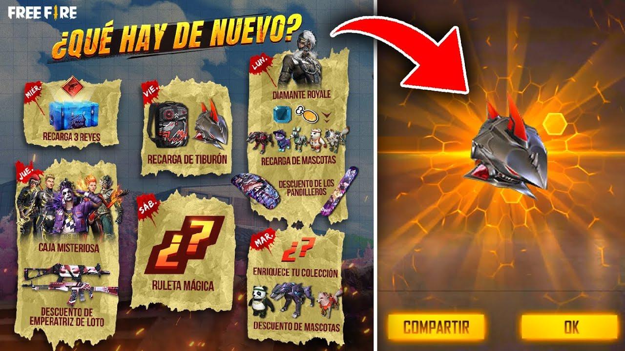 Ya Salio Nueva Agenda Semanal Que Hay De Nuevo Nueva Royale Diamante Y Skins Exclusivas Free Fire的youtube视频效果分析报告 Noxinfluencer