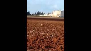 Сирия 2015. Мощная атака ВКС России на объект террористов