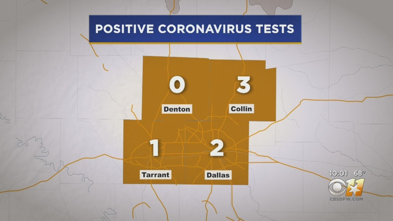 Close Contact Of 1st Dallas County Coronavirus Case Also Tests ...