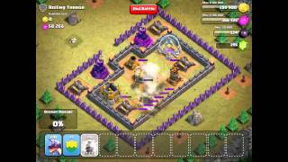 Clash of Clans: Rolling Terror - Single Player 100% Completion