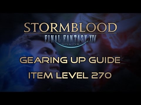 Final Fantasy XIV: Gearing Up Guide for Stormblood