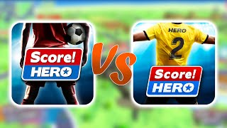 Score! Hero VS Score! Hero 2 - COMPARISON (ANDROID) screenshot 5