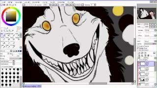 Jeff the Killer & Smile Dog // The Ones - [[SPEEDPAINT]]