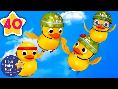 Six Little Ducks | Baby Songs | +More Nursery Rhymes & Kids Songs | Little Baby Bum