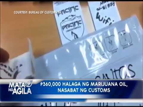 "Customs agents arrest man who claimed smuggled ""marijuana oil"" at Pasay mailing center"