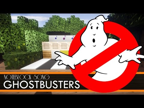 Ghostbusters - THEME SONG - Minecraft Note Block Song