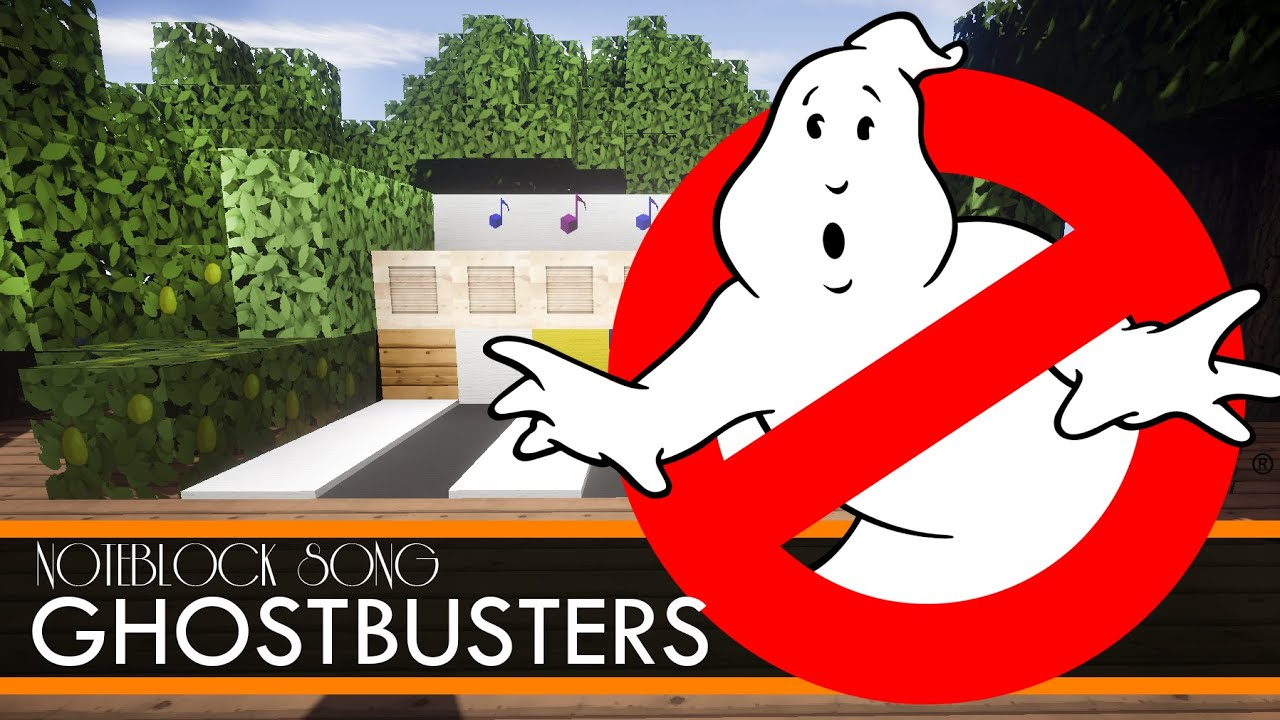 Ghostbusters  THEME SONG  Minecraft Note Block Song