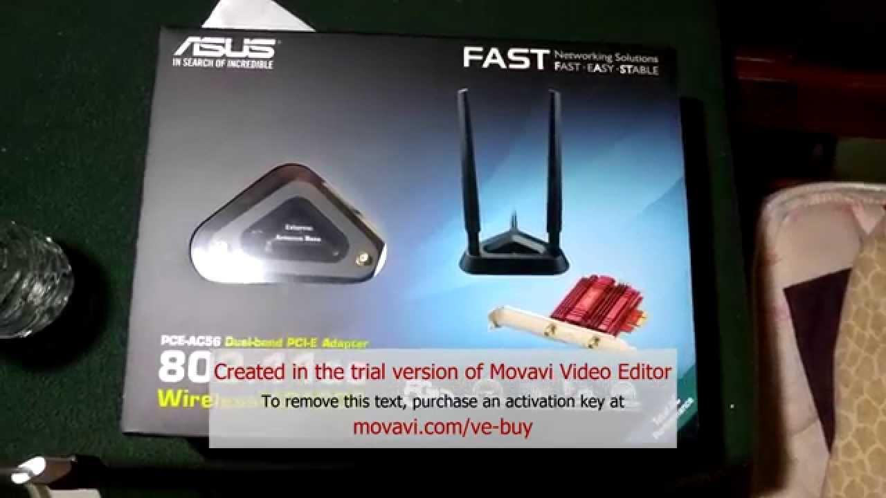 Asus PCE-AC56 Wi-Fi adapter Treiber Windows 7