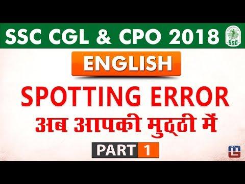 Spotting Errors In English Pdf