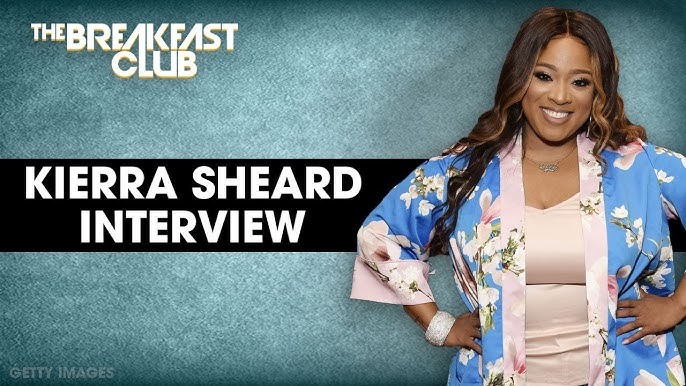 "WATCH: Kierra Sheard Talks Grace, Finding Your Tribe, Dating, Body Positivity, Her New Book and More On ""The Breakfast Club"""