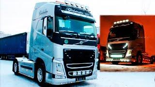 Новая Volvo FH13.460 XL. Видео обзор седельного тягача Вольво