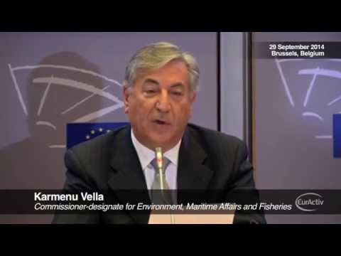 """Vella: Environment, maritime affairs and fisheries are a """"natural fit"""""""