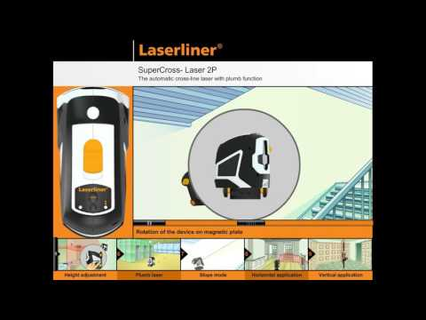 Лазерен нивелир с тринога LASERLINER SuperCross-Laser 2P #eoAmR5Y_V44