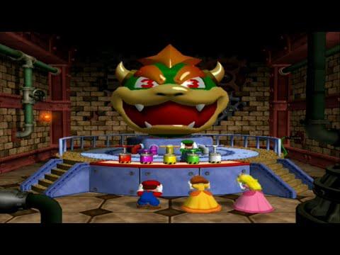 Mario Party 4 Minigames Battle Bowser Bigger Blast