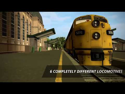 Train Simulator PRO 2018 iOS and Android trailer